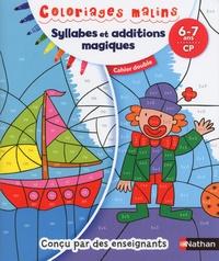 Isabelle Petit-Jean - Syllabes et additions magiques CP - Cahier double.