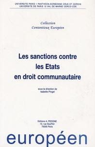 Isabelle Pingel - Sanctions contre les Etats en droit communautaire.