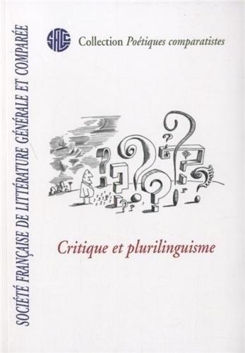 Isabelle Poulin - Critique et plurilinguisme.