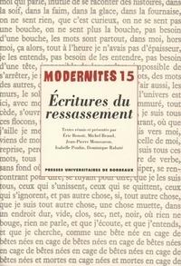 Isabelle Poulin et Jean-Pierre Moussaron - Ecritures du ressassement.