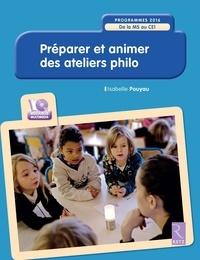 Isabelle Pouyau - Préparer et animer des ateliers philo - De la MS au CE1. 1 Cédérom
