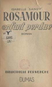 Isabelle Sandy et Blanche Ducastel - Rosamour, enfant perdue.