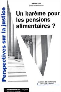 Un barème pour les pensions alimentaires ?.pdf