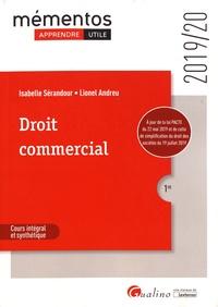 Isabelle Sérandour et Lionel Andreu - Droit commercial.