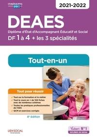 Isabelle Sue-Sammut et Danièle Lenepveu - DEAES DF 1 à 4 - Tout-en-un.