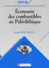 Isabelle Théry-Parisot - Economie des combustibles au Paléolithique.