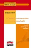Isabelle Vandangeon-Derumez - Herbert A. Simon - Les limites de la rationalité : contraintes et défis.