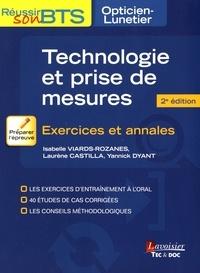 Isabelle Viards-Rozanes et Laurène Castilla - Technologie et prise de mesures - Exercices et annales.