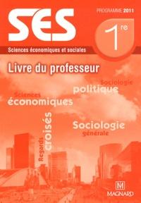 Isabelle Waquet - Sciences Economiques et Sociales 1er ES - Livre du professeur, Programme.