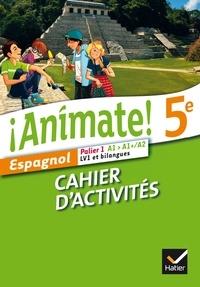 Deedr.fr Espagnol 5e Palier 1 A1-A1+/A2 LV1 et bilangues Animate! - Cahier d'activités Image