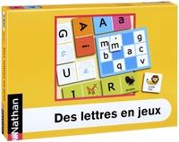 Isdey Cohen et Annick Mauffrey - Des lettres en jeux.