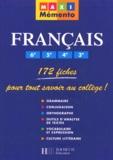 Isdey Cohen et Annie Mauffrey - Français 6e, 5e, 4e, 3e.