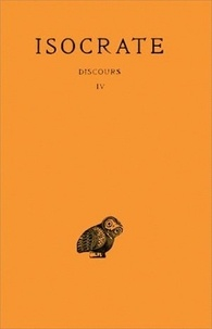 Isocrate - Dicours - Tome 4.