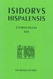 Isodorus Hyspalensis et Giovanni Gasparotto - Etymologies.