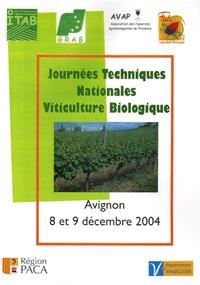 Journées Techniques Nationales Viticulture Biologique - Avignon, 8 et 9 décembre 2004.pdf