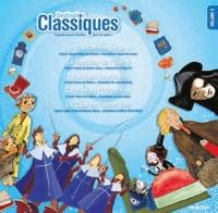 Itak éditions - Destination Classiques - Tome 2, Les Trois Mousquetaires, Le Fantôme de l'Opéra, Le Malade imaginaire, Candide ou l'Optimisme, La Case de l'oncle Tom.