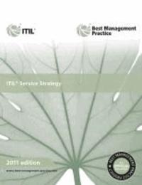 ITIL Service Strategy 2011.