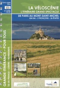 Itinérance à vélo - La Véloscénie - L'itinéraire grand spectacle de Paris au Mont-Saint-Michel.