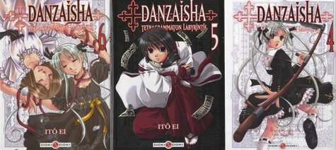 Itô Ei - Danzaisha  : Pack en 3 volumes : Tome 4, Tome 5, Tome 6.
