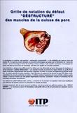 """ITP - Grille de notation du défaut """"Destructuré"""" des muscles de la cuisse de porc."""