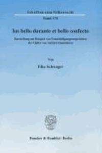 Ius bello durante et bello confecto - Darstellung am Beispiel von Entschädigungsansprüchen der Opfer von Antipersonenminen.