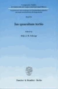 Ius quaesitum tertio.