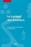 Iva Novakova et Agnès Tutin - Le Lexique des émotions.