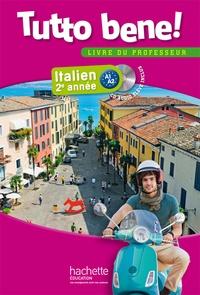 Deedr.fr Italien 2e année Tutto bene! A1-A2 - Livre du professeur Image