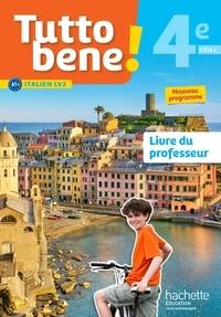 Ivan Aromatario et Patrice Tondo - Italien cycle 4/4e LV2 Tutto bene! - Livre du professeur.