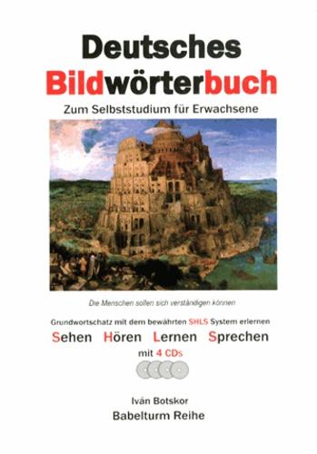 Ivan Botskor - Deutsches Bildwörterbuch - Zum Selbststudium für Erwachsene. 4 CD audio