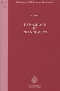 Ivan Fonagy - Dynamique et changement.