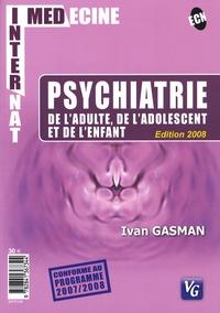 Ivan Gasman - Psychiatrie de l'adulte, de l'adolescent et de l'enfant.