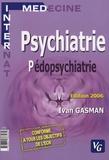 Ivan Gasman - Psychiatrie & pédopsychiatrie - Nouvelles questions des E.C.N. à partir de 2004.