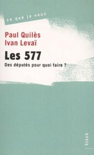 Ivan Levaï et Paul Quilès - .