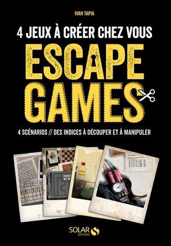 Escape Game 4 Scenarios A Jouer Chez Vous Grand Format