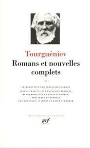Ivan Tourgueniev - Romans et nouvelles complètes - Tome 3.