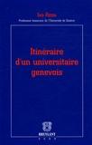 Ivo Rens - Itinéraire d'un universitaire genevois.