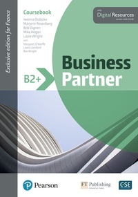 Le coin de téléchargement des manuels scolaires Business Partner B2+  - Coursebook. With Digital Ressources iBook CHM en francais