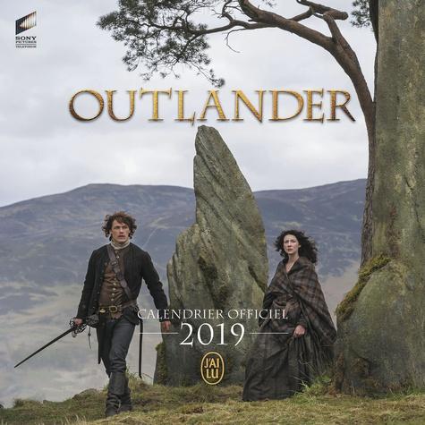 J'ai lu - Outlander - Calendrier officiel.