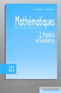 MATHEMATIQUES. Tome 2, algèbre et géométrie, rappels de cours et exercices résolus.pdf