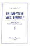 J-B Priestley - Un inspecteur vous demande.
