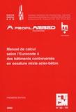 J-B Schleich et Jules Mathieu - Manuel de calcul selon l'Eurocode 4 des bâtiments contreventés en ossature mixte acier-béton.
