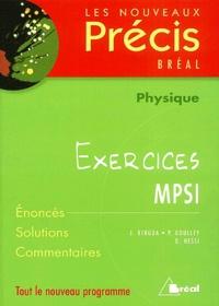 J Bergua et P Goulley - Physique MPSI - Exercices.