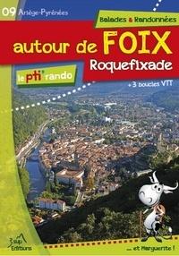 J. born jd. Achard - Le pti' rando - autour de Foix - Roquefixade.