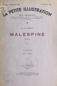 J.-C. d'Amat et Léon Fauret - Malespine.