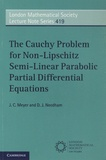 J-C Meyer et D-J Needham - The Cauchy Problem for Non-Lipschitz Semi-Linear Parabolic Partial Differential Equations.