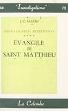 J.-C. Salémi - Connaissances intérieures (4) - Évangile de Saint-Matthieu.