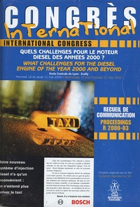 Histoiresdenlire.be Quels challenges pour le moteur diesel des années 2000 ? - Congrès du 10/11 mai 2000 Image