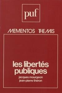 J/j. Mourgeon/theron - Libertes publiques (mementos).