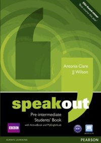 J. J. Wilson et Antonia Clare - Speakout Pre-intermediate Students' Book. 1 DVD
